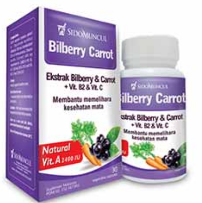 Nature's Blessing Bilberry Carrot
